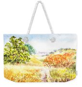 Fall Landscape Briones Park California Weekender Tote Bag