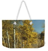 Fall Lane Weekender Tote Bag