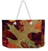 Fall Leaf Collage Weekender Tote Bag