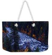 Lower Mesa Falls Weekender Tote Bag