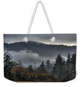 Fall Low Clouds And Fog Weekender Tote Bag