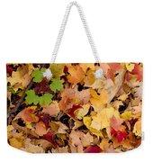 Fall Maples Weekender Tote Bag