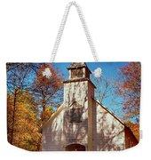 Fall Morning At Palmer Chapel In Cataloochee Weekender Tote Bag