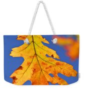 Fall Oak Leaf Weekender Tote Bag