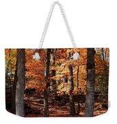 Fall On A Stump Weekender Tote Bag