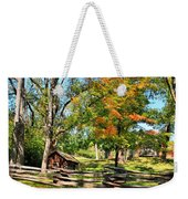 Fall On The Farm Weekender Tote Bag