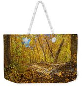 Fall On The Forest Floor Weekender Tote Bag