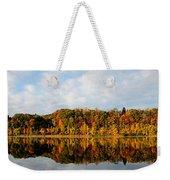 Fall On The Lake Weekender Tote Bag