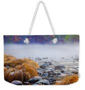Fall On The Merced Weekender Tote Bag by Bill Gallagher