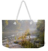 Fall On The River Weekender Tote Bag
