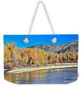Fall On The Snake River Weekender Tote Bag