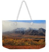 Fall Over Mountain Weekender Tote Bag