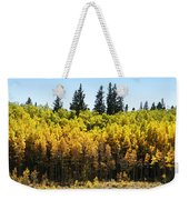 Fall Panorama Weekender Tote Bag
