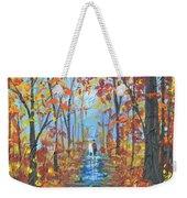 Fall Promenade  Weekender Tote Bag