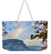 Fall Rainbow Weekender Tote Bag