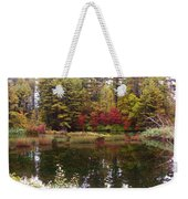 Fall Reflection And Colors Weekender Tote Bag