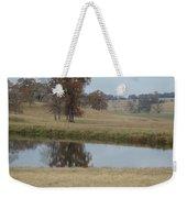 Fall Reflection Weekender Tote Bag