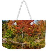 Fall Reflections In Maine Img 6312 Weekender Tote Bag