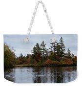 Fall River Colors Weekender Tote Bag