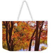 Fall River Nova Scotia Weekender Tote Bag