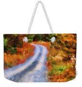 Fall Road To Paradise Weekender Tote Bag