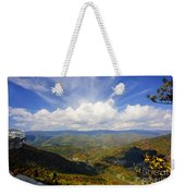 Fall Scene From North Fork Mountain Weekender Tote Bag
