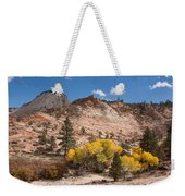 Fall Season At Zion National Park Weekender Tote Bag