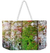 Fall Silos Weekender Tote Bag