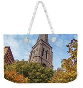 Fall Steeple Weekender Tote Bag