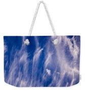 Fall Streak Clouds  Weekender Tote Bag