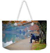 Fall Thoughts Weekender Tote Bag