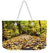 Fall Trail Weekender Tote Bag