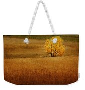 Fall Tree And Field #1 Weekender Tote Bag