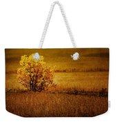 Fall Tree And Field #2 Weekender Tote Bag