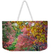 Fall Tree Leaves Weekender Tote Bag