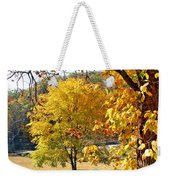 Fall Trees 4 Of Wnc Weekender Tote Bag