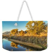 Fall Trees Weekender Tote Bag
