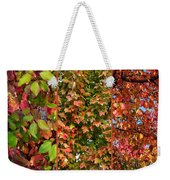 Fall Trio Collage Weekender Tote Bag