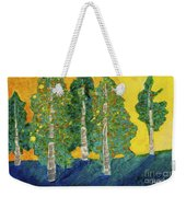 Fall Turn At Sunset Weekender Tote Bag