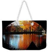 Fall Under The Bridge Weekender Tote Bag