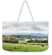 Fall Vermont Landscape Weekender Tote Bag