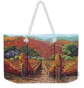 Fall Vineyard Weekender Tote Bag