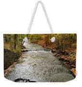 Fall Waters Weekender Tote Bag