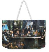 Fallen Last Supper Bad Guys Weekender Tote Bag by Ylli Haruni
