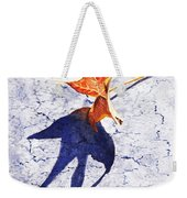 Fallen Leaf King Size Shadow Weekender Tote Bag