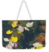 Fallen Leaves 2 Weekender Tote Bag