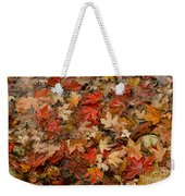 Fallen Leaves Weekender Tote Bag