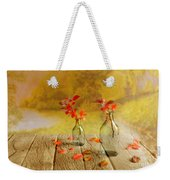 Fallen Leaves Weekender Tote Bag by Veikko Suikkanen