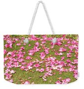 Fallen Rhododendron Weekender Tote Bag