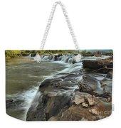 Falling Across The New River Weekender Tote Bag